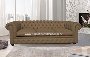 sofa chesterfield bege
