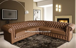 sofa chesterfield de-canto bege